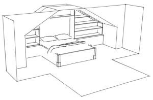 Lauren's Bed