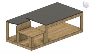 Simple 4×8 workbench